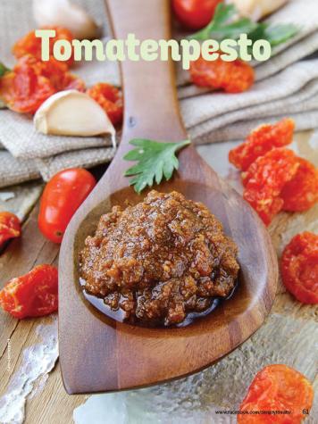Rezept - Tomatenpesto - Simply Kochen mit Vorräten 02/2020