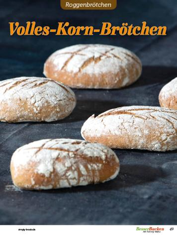 Rezept - Volles-Korn-Brötchen - Brötchen Backen mit Tommy Weinz Teil 2 – 03/2020