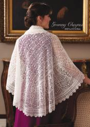 Strickanleitung - Granny Cheynes Shetland-Schal - Simply Kreativ Sonderheft - Lace aus aller Welt