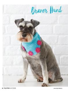 Häkelanleitung - Braver Hund - Simply Haekeln - 04/2020