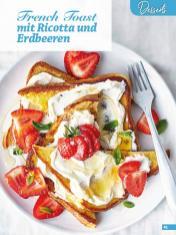 Rezept - French Toast mit Ricotta und Erdbeeren - Simply Backen Sonderheft Erdbeeren – 01/2020