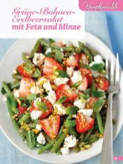 Rezept - Grüne Bohnen Erdbeersalat mit Feta und Minze - Simply Backen Sonderheft Erdbeeren – 01/2020