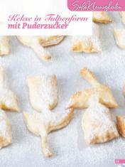 Rezept - Kekse in Tulpenform mit Puderzucker - Simply Backen Blätterteig – 02/2020