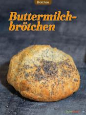 Rezept - Buttermilchbrötchen - Low Carb Backen mit Tommy Weinz – 01/2020