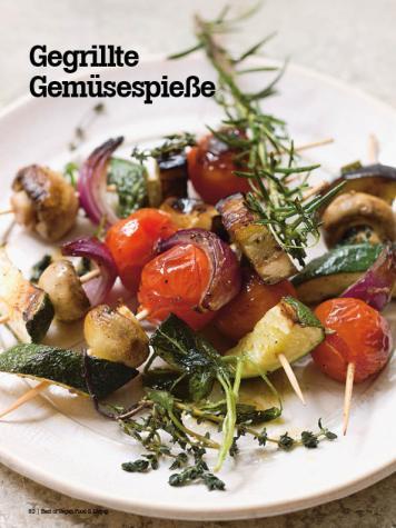 Rezept - Gegrillte Gemüsespieße - Vegan Food & Living – 04/2020