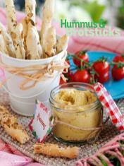 Rezept - Hummus & Brotsticks - Simply Kochen Sonderheft Sommerrezepte 01/2020