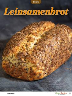 Rezept - Leinsamenbrot - Low Carb Backen mit Tommy Weinz – 01/2020