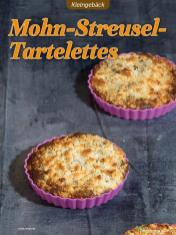 Rezept - Mohn-Streusel-Tartelettes - Low Carb Backen mit Tommy Weinz – 01/2020