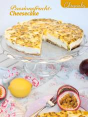 Rezept - Passionsfrucht-Cheesecake - Simply Backen Sonderheft Sommertorten – 01/2020