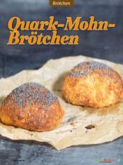 Rezept - Quark-Mohn-Brötchen - Low Carb Backen mit Tommy Weinz – 01/2020
