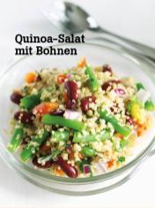 Rezept - Quinoa-Salat mit Bohnen - Vegan Food & Living – 04/2020