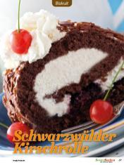 Rezept - Schwarzwälder Kirschrolle - Besser Backen mit Tommy Weinz Vol. 2 – 04/2020