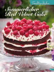 Rezept - Sommerlicher Red Velvet Cake - Simply Backen Sonderheft Sommertorten – 01/2020