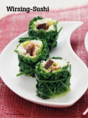 Rezept - Wirsing-Sushi - Vegan Food & Living – 04/2020