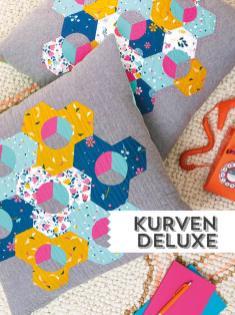 Nähanleitung - Kurven Deluxe - Simply Kreativ Sonderheft Patchwork + Quilting 01/2020