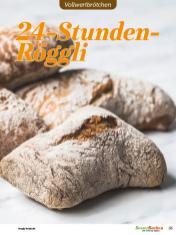 Rezept - 24-Stunden-Röggli - Vollkorn Backen mit Tommy Weinz – 01/2020