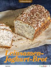 Rezept - Leinsamen-Joghurt-Brot - Vollkorn Backen mit Tommy Weinz – 01/2020