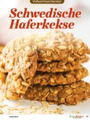 Rezept - Schwedische Haferkekse - Vollkorn Backen mit Tommy Weinz – 01/2020
