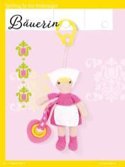 Häkelanleitung - Bäuerin - Sonderheft Häkeln Amigurumi Vol. 26 – Babygurumi 03/2020