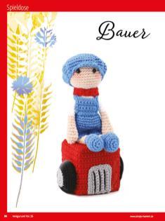 Häkelanleitung - Bauer - Sonderheft Häkeln Amigurumi Vol. 26 – Babygurumi 03/2020