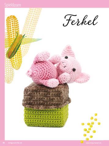 Häkelanleitung - Ferkel - Sonderheft Häkeln Amigurumi Vol. 26 – Babygurumi 03/2020