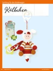 Häkelanleitung - Kälbchen - Sonderheft Häkeln Amigurumi Vol. 26 – Babygurumi 03/2020