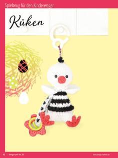 Häkelanleitung - Küken - Sonderheft Häkeln Amigurumi Vol. 26 – Babygurumi 03/2020