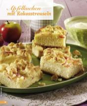 Rezept - Apfelkuchen mit Kokosstreuseln - Simply Backen Blechkuchen – 03/2020