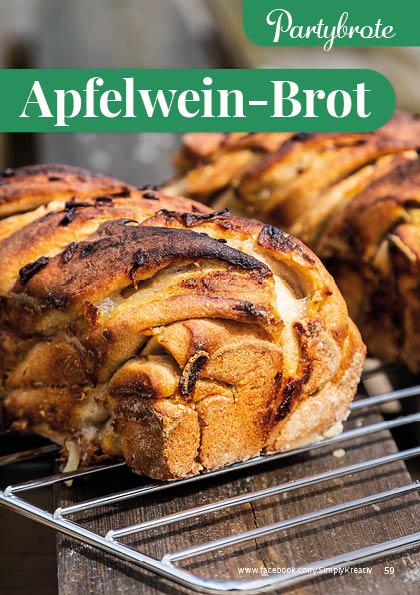 Rezept - Apfelwein-Brot - Simply Backen kompakt Brote 04/2020