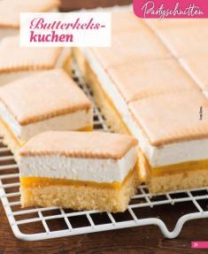 Rezept - Butterkekskuchen - Simply Backen Blechkuchen – 03/2020