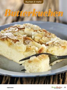 Rezept - Butterkuchen - Easy Backen mit Sauerteig mit Tommy Weinz – 01/2020