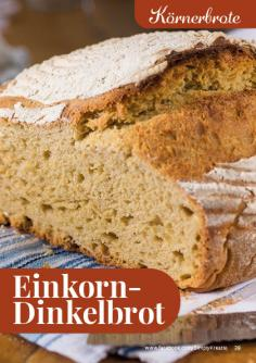 Rezept - Einkorn-Dinkelbrot - Simply Backen kompakt Brote 04/2020