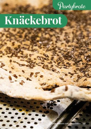 Rezept - Knäckebrot - Simply Backen kompakt Brote 04/2020