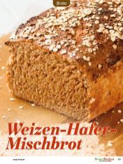 Rezept - Weizen-Hafer-Mischbrot - Easy Backen mit Sauerteig mit Tommy Weinz – 01/2020