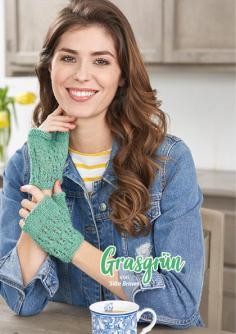 Strickanleitung - Grasgrün - Simply Stricken Extra kompakt Handschuhe & Stulpen 01/2020