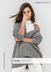 Strickanleitung - Grau gewinnt - Fantastische Herbst-Strickideen 05/2020