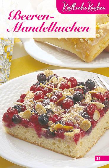 Rezept - Beeren-Mandelkuchen - Simply Backen Sonderheft Obstkuchen – 01/2020