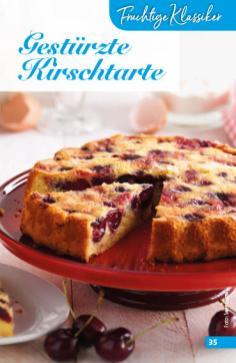 Rezept - Gestürzte-Kirschtarte - Simply Backen Sonderheft Obstkuchen – 01/2020