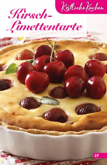 Rezept - Kirsch-Limettentarte - Simply Backen Sonderheft Obstkuchen – 01/2020
