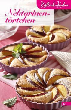 Rezept - Nektarinentörtchen - Simply Backen Sonderheft Obstkuchen – 01/2020