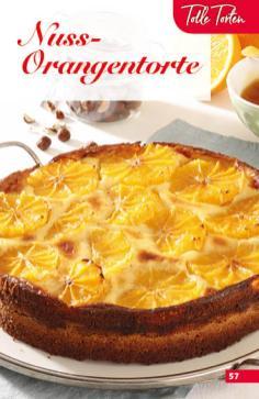 Rezept - Nuss-Orangentorte - Simply Backen Sonderheft Obstkuchen – 01/2020