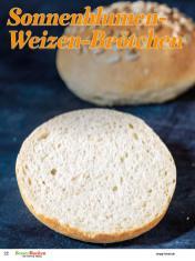 Rezept - Sonnenblumen-Weizen-Brötchen - Backideen für Weihnachten, Herbst & Winter mit Tommy Weinz – 01/2020