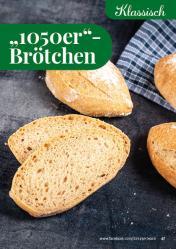 """Rezept - """"1050er""""-Brötchen - Simply Backen kompakt Brötchen – 01/2020"""