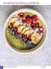 Rezept - Avocado-Bowl mit Himbeeren und Banane - Simply Kochen Sonderheft: One-Pot-Gerichte