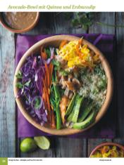 Rezept - Avocado-Bowl mit Quinoa und Erdnussdip - Simply Kochen Sonderheft: One-Pot-Gerichte