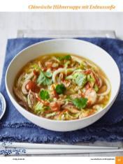 Rezept - Chinesische Hühnersuppe mit Erdnusssoße - Simply Kochen Sonderheft: One-Pot-Gerichte