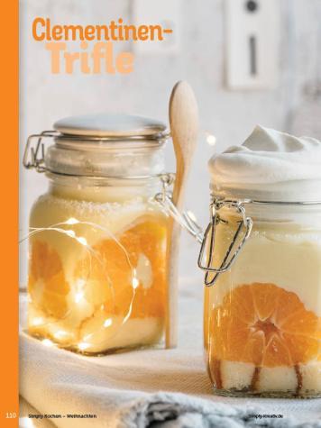 Rezept - Clementinen-Trifle - Simply Kochen Weihnachten 01/2020