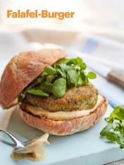 Rezept - Falafel-Burger - Vegan Food & Living – 05/2020