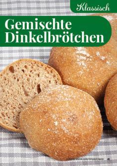 Rezept - Gemischte-Dinkelbrötchen - Simply Backen kompakt Brötchen – 01/2020