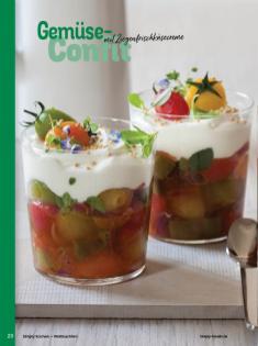 Rezept - Gemüse-Confit mit Ziegenfrischkäsecreme - Simply Kochen Weihnachten 01/2020